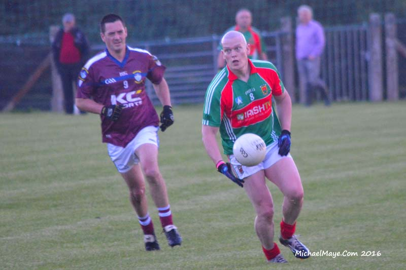 Mayo Masters v Westmeath Masters 25th August 2016
