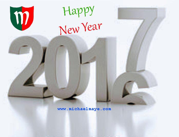 happy new year 2017 logo