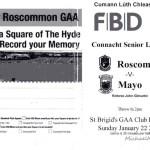 Roscommon v Mayo 22nd January 2017