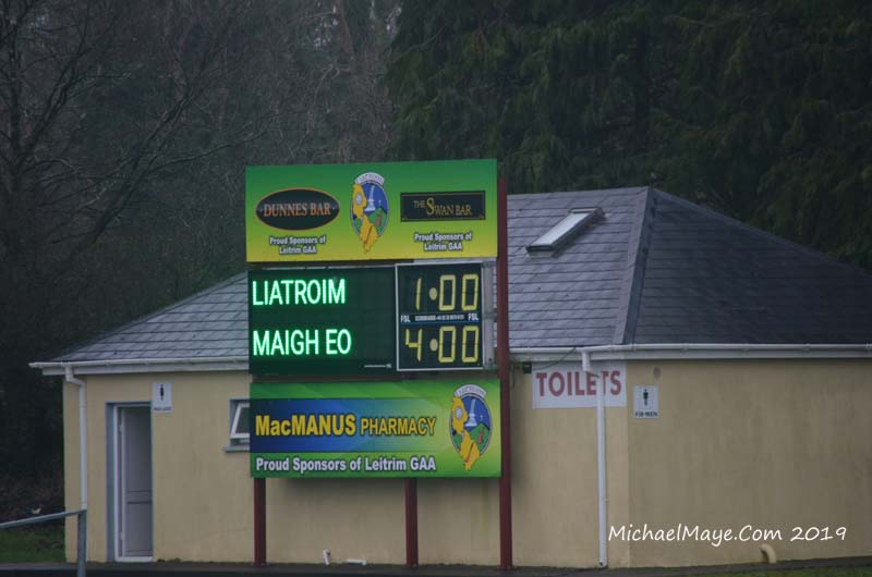 Leitrim v Mayo 6th January 2019