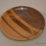 laminated platter top view