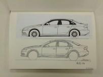 Audi A4 Proportions