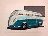 VW Camper Van Redesign