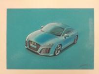 Canson Blue Audi TT