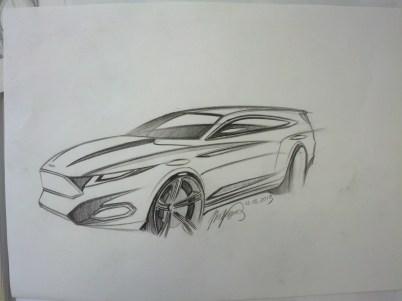 Ford Evos Shooting Brake