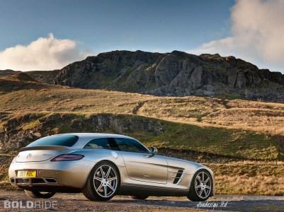 Mercedes Benz SLS Shooting Brake Render