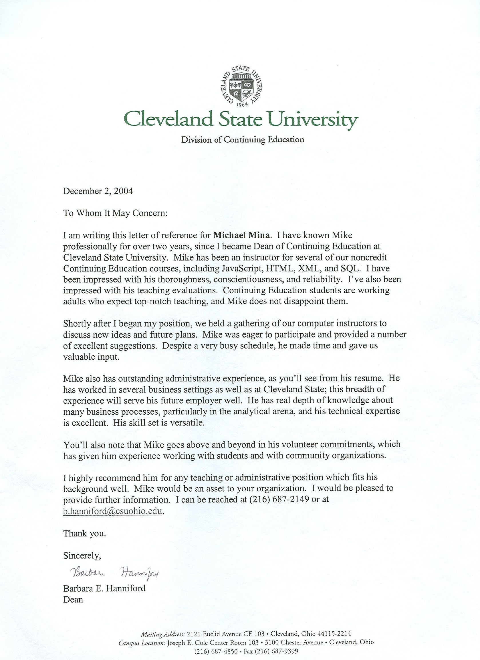 Recommendation Letter For Assistant Professor Position