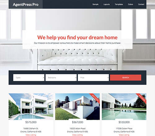 StudioPress Premium WordPress Theme AgentPress Pro