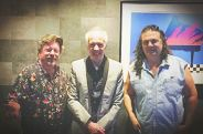 Danny, Robin Trower and Michael