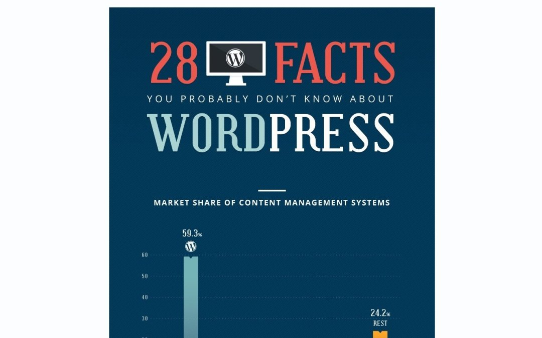 """Review of """"28 Facts You Probably Don?t Know About WordPress"""" infographic"""