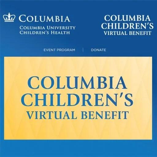 Columbia Children's Virtual Benefit