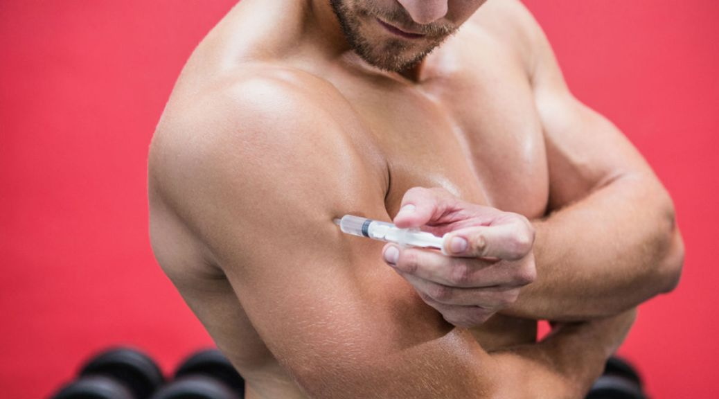 steroid use / Corbis