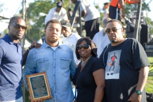 the-family-of-the-late-eugene-moore-with-a-plaque-in-his-honor-presented-at-last-weekends-maywood-family-fest