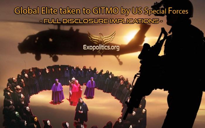 US Special forces take Elite to Gitmo