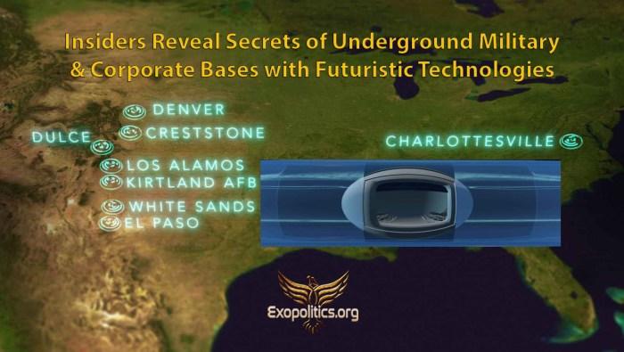 Insiders Reveal Secrets of underground bases