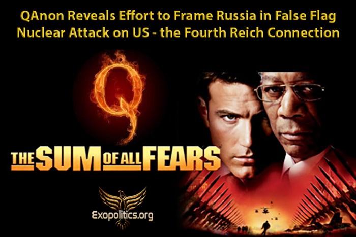 QAnon Reveals Effort to Frame Russia False Flag Attack