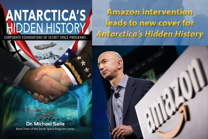 Amazon Intervention leads to new cover for Antarctica's Secret History