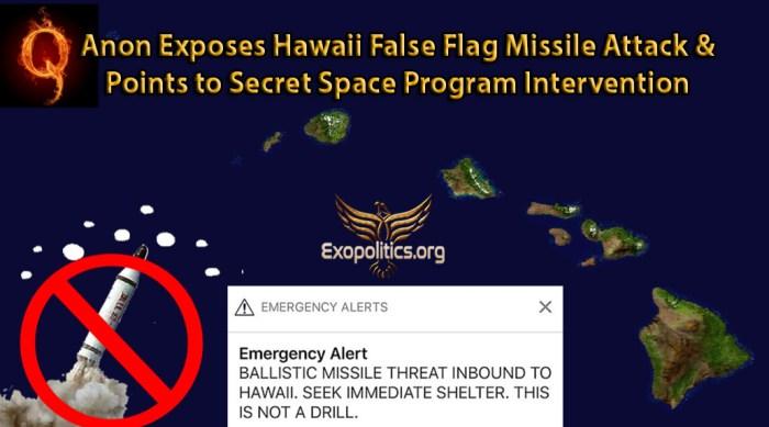 QAnon Hawaii FF and Intervention