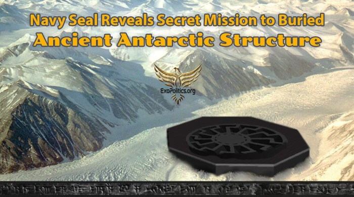 navy seal antarctic buried structure