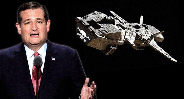 Space Pirates Ted Cruz