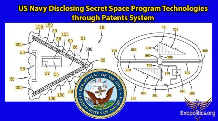 US Navy Disclosing SSP Tech through Patents
