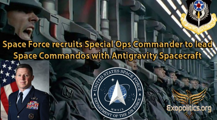 Space Force recruits Special Ops Commander