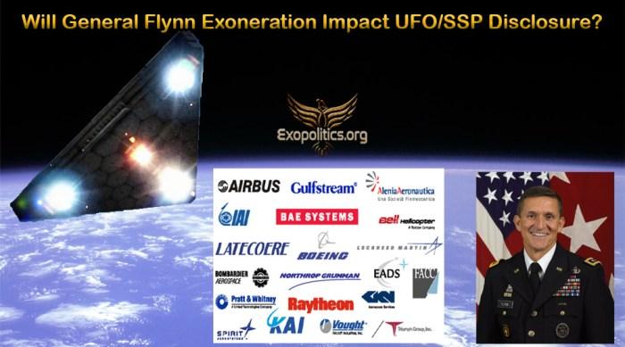 Gen Flynn Exoneration and SSP Disclosure