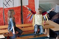 Theater im Unterricht der Klasse 2
