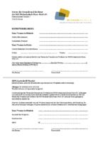 Beitrittserklärung und SEPA Lastschrift Mandat