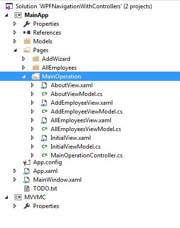 WPF page navigation like in MVC part 2: The MVVMC Framework