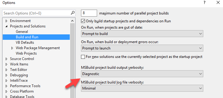 Why Visual Studio keeps rebuilding my projects for no good reason