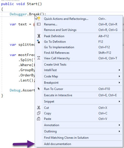 Visual Studio 2017 Extension development tutorial, Part 4
