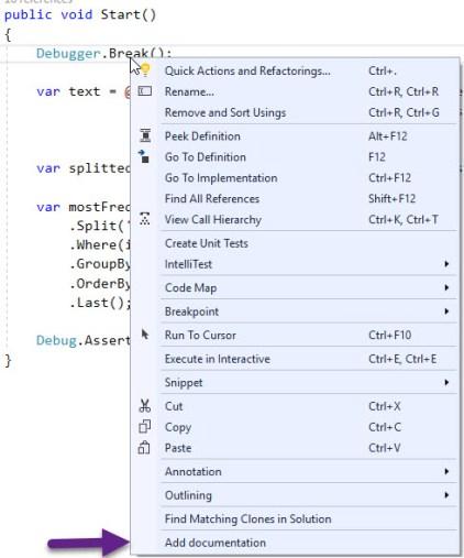 Visual Studio 2017 Extension development tutorial, Part 4: Show a