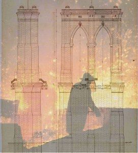 Brooklyn Bridge Schematic Superimposed