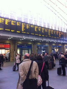 Kings Cross Station, London