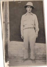 Lawrence Gallagher, my grandfather, in Persia in 1942