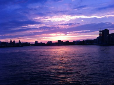 Thames River from Canary Wharf Pier