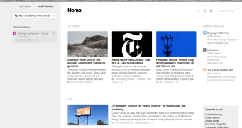 Add it to your RSS reader (Feedly for me)