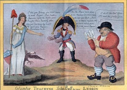 Napoleon 1812 Cartoon