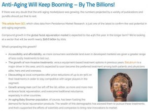 Anti-Aging Will Keep Booming – By the Billions of Dollars!
