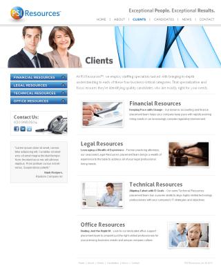 PSI Resources Clients