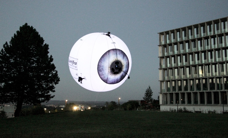 Welcome to a Drone-vertising Tomorrow