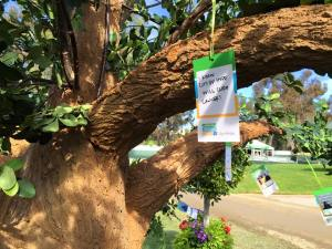 Tree of Remembrance Event Hangers