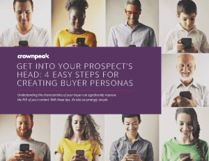 crownpeak-ebook-4-steps-to-creating-buyer-personas
