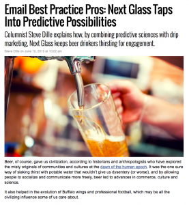 Message Systems MarketingLand column – Next Glass