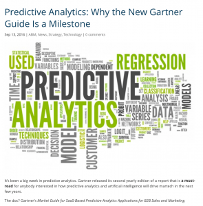Mariana Blogpost: Gartner Report POV
