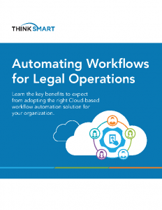 ThinkSmart White Paper on Legal Workflow Automation
