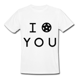 I Put A Spell On You mens tee by Michael Shirley