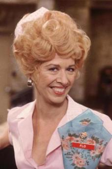 Polly Holliday as Flo on Alice
