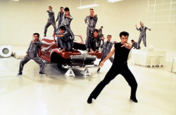 Rydell High guys perform Greased Lightning